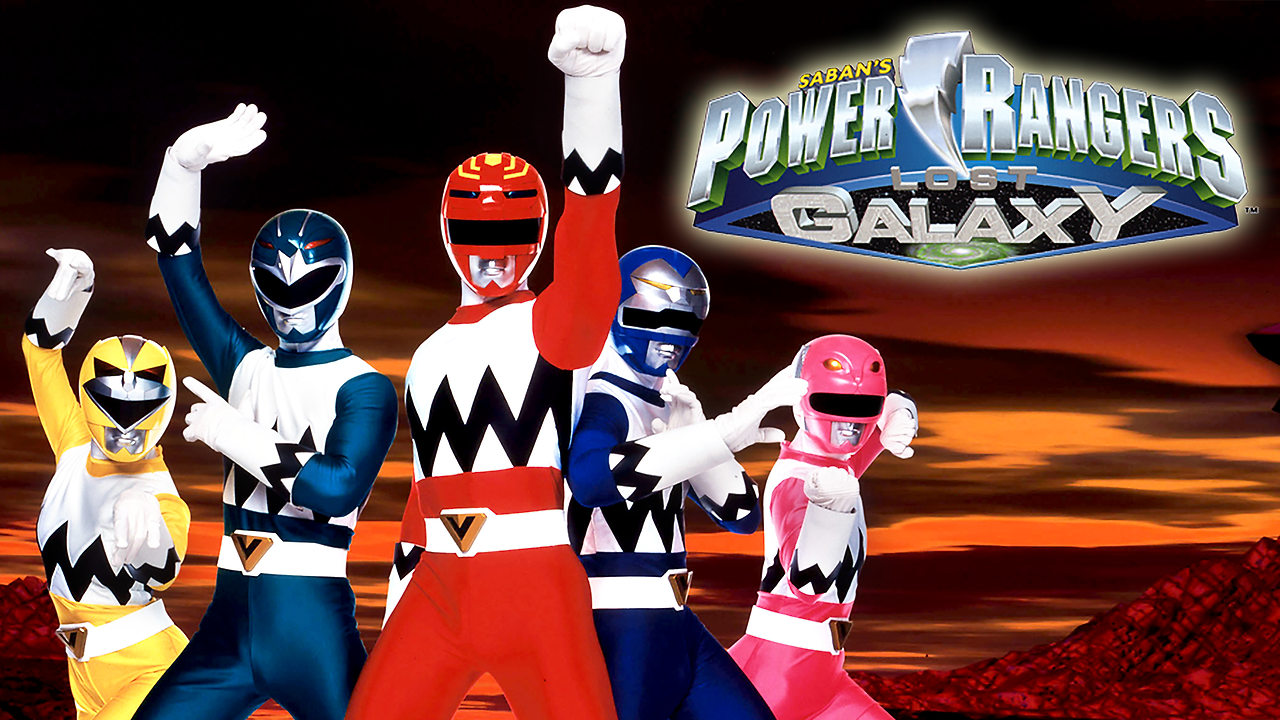 Power Rangers La Galaxia Perdida
